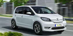 Small cheap automatic cars for rent on Crete.